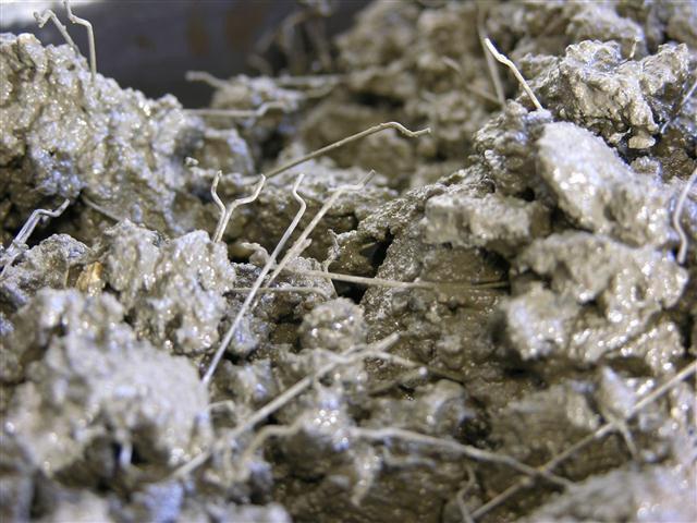 Использование стальной фибры в бетоне
